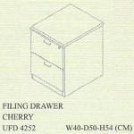 filling cabinet 2 laci uno gold series