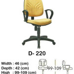 kursi-staff-secretary-indachi-d-220