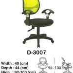 kursi-staff-secretary-indachi-d-3007