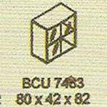 meja kantor modera bcu 7483