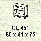 meja kantor modera cl 451
