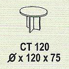 meja kantor modera ct 120