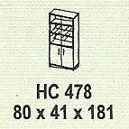 meja kantor modera hc 478